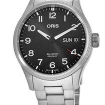 Oris Big Crown ProPilot Day Date 01 752 7698 4194-Set MB new