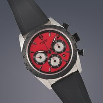Tudor Fastrider Chrono pre-owned 42mm Red Chronograph Date Tachymeter Rubber