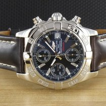 Breitling Chrono Galactic Staal 40mm Zwart