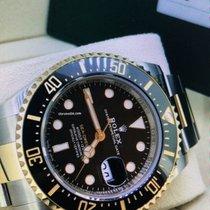 Rolex Sea-Dweller Gold/Stahl 43mm Schwarz Keine Ziffern Deutschland, Eltville