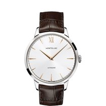 Montblanc Steel 41mm Automatic 110695 new