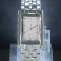 Longines Elegant Steel 23mm Grey Arabic numerals