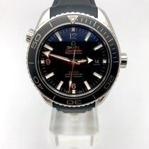 Omega Seamaster Planet Ocean Acero 42mm Negro Árabes