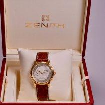 Zenith Elite Power Reserve Yellow gold 36mm Silver Arabic numerals