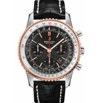 Breitling UB0121211F1P1 Gold/Steel 2019 Navitimer 1 B01 Chronograph 43 43mm new