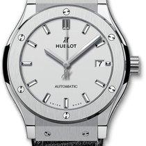 Hublot Classic Fusion 45, 42, 38, 33 mm Titan 42mm Srebro Bez brojeva