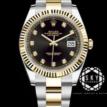 Rolex Datejust 126333 New Gold/Steel 41mm Automatic