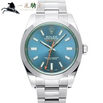 Rolex Milgauss Stahl 40mm Blau