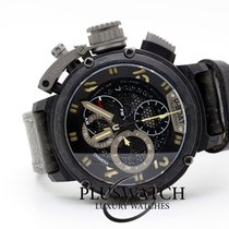 U-Boat Chimera pre-owned 46mm Black Chronograph Date Leather