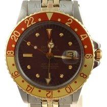 Rolex GMT-Master Gold/Steel 40mm Brown No numerals