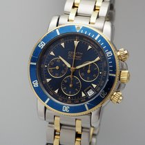 Zenith El Primero Chronograph Gold/Steel 40mm Blue