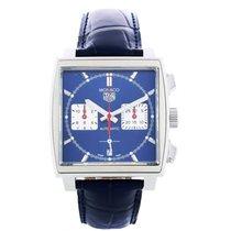 TAG Heuer Monaco ny Automatisk Kronograf Klokke med original eske og originale dokumenter CBL2111.FC6453