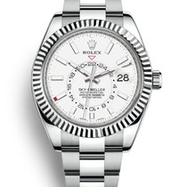 Rolex Sky-Dweller Steel 42mm White No numerals United States of America, New York, New York