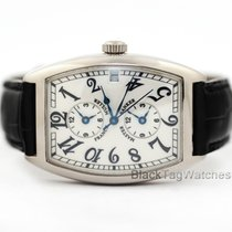 Franck Muller Master Banker White gold 43mm Silver Arabic numerals United States of America, Florida, Aventura