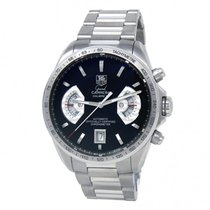 TAG Heuer Grand Carrera Steel 43mm Black United States of America, New York, New York