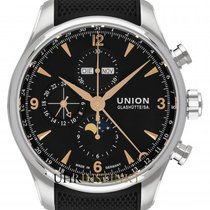 Union Glashütte Belisar Chronograph Steel 44mm Black