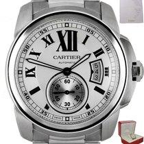 Cartier Calibre de Cartier Steel 42mm White Roman numerals United States of America, New York, Smithtown