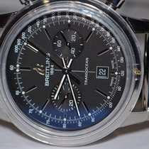 Breitling TransOcean 38 Chronograph Stainless Steel Automatic