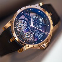 ロジェ・デュブイ Excalibur Skeleton Double Flying Tourbillon Limited...