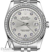 Rolex Lady-Datejust Acél 31mm Ezüst
