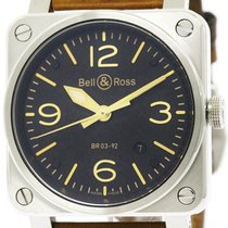 ベルアンドロス (Bell & Ross) Golden Heritage Steel Automatic Mens...