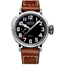 Zenith Pilot Type 20 GMT Steel 48mm Black Arabic numerals United States of America, Pennsylvania, Holland