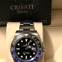 Rolex GMT-Master II 116710BLNR Batman con pellicole
