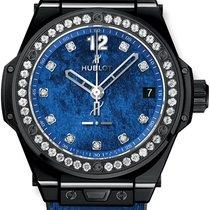 Hublot Big Bang Sang Bleu Ceramic Blue United States of America, New York, Brooklyn