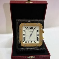 Cartier Santos Travel Alarm Desk Clock