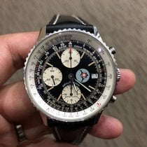 Breitling Chronograph Automatic 1995 pre-owned Old Navitimer Black