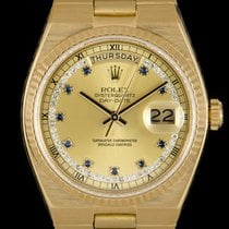Rolex Day-Date Oysterquartz pre-owned 36mm Yellow gold