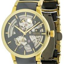 Rado Centrix Gold-Tone Steel and Ceramic Automatic Mens Watch