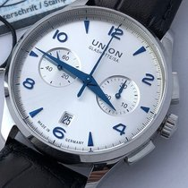 Union Glashütte Chronograph 42mm Manual winding pre-owned Noramis Chronograph