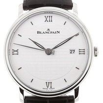 Blancpain Villeret Ultra-Slim 6651-1143-55B New Steel 40mm Automatic