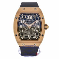 Richard Mille RM 67 Or rose 38.7mm Transparent Arabes