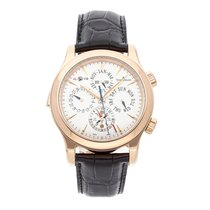 Jaeger-LeCoultre Master Grand Réveil Rose gold 43mm Silver No numerals United States of America, Pennsylvania, Bala Cynwyd
