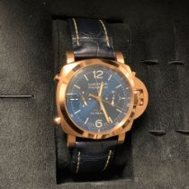Panerai Red gold Automatic Blue No numerals 44mmmm new