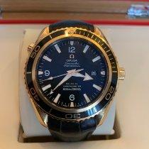 Omega Seamaster Planet Ocean Pозовое золото Чёрный