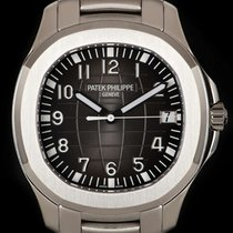 Patek Philippe Aquanaut Steel 40mm Black Arabic numerals United Kingdom, London
