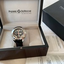 Pierre DeRoche pre-owned Automatic Sapphire Glass