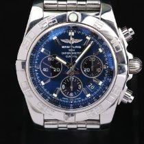 Breitling Chronomat 44 Zeljezo 44mm Crn Bez brojeva