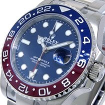 Rolex White gold Automatic Blue 40mm new GMT-Master
