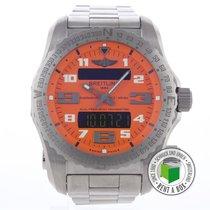 Breitling Emergency new 2015 Quartz Watch with original box and original papers