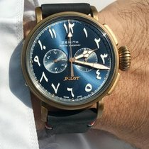 Zenith Pilot Type 20 Extra Special 29.2431. 4069/57.C795 Very good Bronze Automatic UAE, Dubai