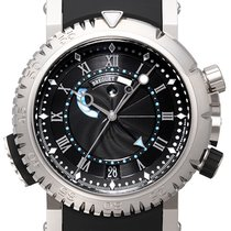 Breguet Marine White gold 45,00mm Black