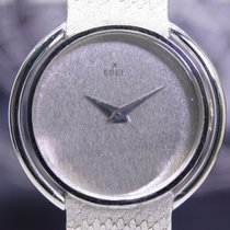 Ebel pre-owned Manual winding 25.5mm Silver Sapphire Glass Not water resistant