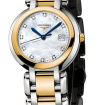 Longines PrimaLuna Gold/Steel 30mm Silver United States of America, New York, Airmont