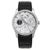 Jaeger-LeCoultre Master Eight Days Perpetual Otel 40mm Argint