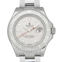 Rolex Yacht-Master Stainless Steel Platinum Dial 40mm