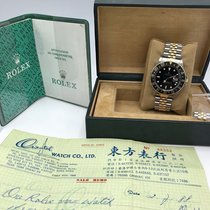 Rolex GMT master 16753 YG/SS Fullset 1984 box & Papers